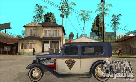 Ford Tudor Custom 1932 für GTA San Andreas linke Ansicht