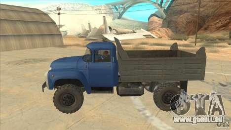 ZIL-MMZ 4502 quatre roues motrices pour GTA San Andreas laissé vue