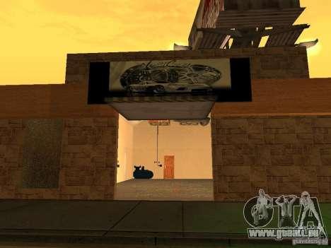 New PaynSpay: West Coast Customs für GTA San Andreas