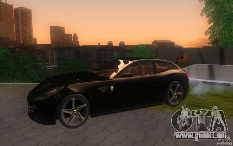 Ferrari FF pour GTA San Andreas vue arrière
