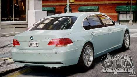 BMW 7 Series E66 pour GTA 4 est un droit
