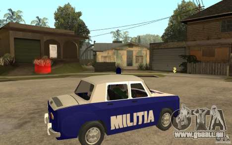 Dacia 1100 Militie für GTA San Andreas rechten Ansicht