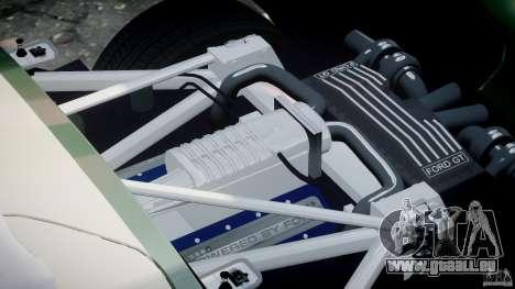 Ford GT1000 Hennessey Police 2006 [EPM][ELS] pour GTA 4 vue de dessus