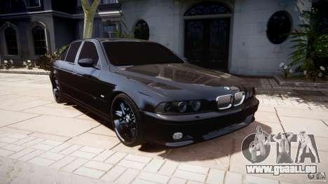 BMW M5 E39 Stock 2003 v3.0 für GTA 4 Rückansicht