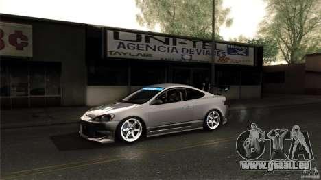 Acura RSX Spoon Sports pour GTA San Andreas vue de côté