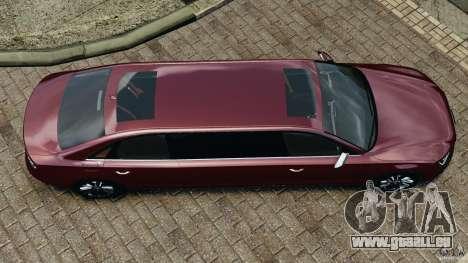 Audi A8 Limo v1.2 pour GTA 4 est un droit