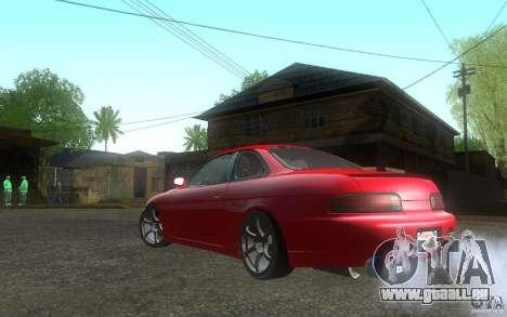 Lexus SC300 pour GTA San Andreas laissé vue