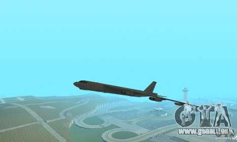 Boeing B-52H Stratofortress für GTA San Andreas zurück linke Ansicht
