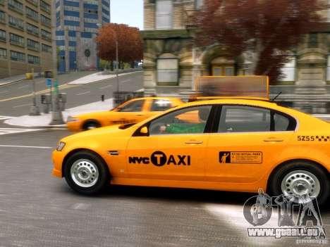 Holden NYC Taxi für GTA 4 linke Ansicht