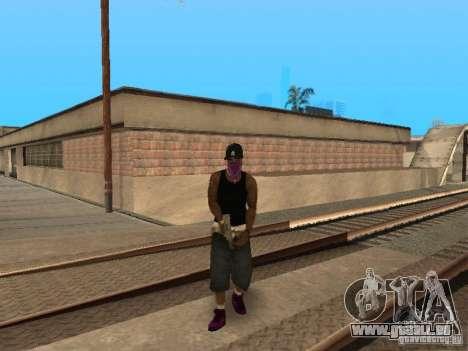 Pack Ballas Soldiaz Families V.2 pour GTA San Andreas quatrième écran