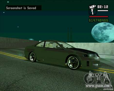Honda Accord Tuning pour GTA San Andreas