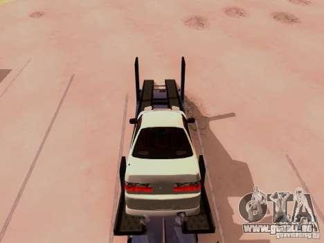 Nissan 240SX (S13) pour GTA San Andreas vue intérieure