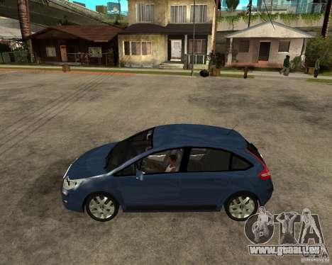 Citroen C4 SX 1.6 HDi für GTA San Andreas linke Ansicht