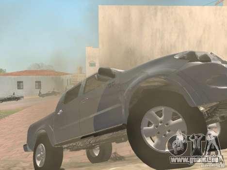 Toyota Hilux für GTA San Andreas rechten Ansicht