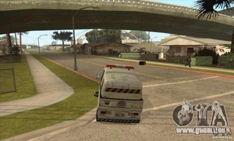 Balayeur de rue de travail pour GTA San Andreas