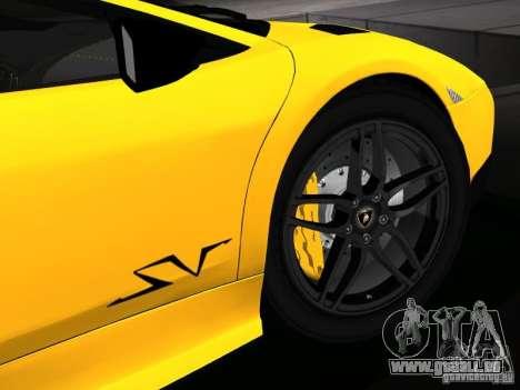 Lamborghini Murcielago LP670-4 sv für GTA San Andreas Motor