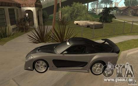 Mazda RX 7 VeilSide Fortune v.2.0 pour GTA San Andreas laissé vue