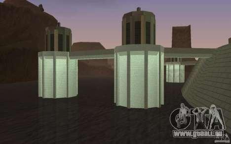 Le nouveau barrage pour GTA San Andreas troisième écran