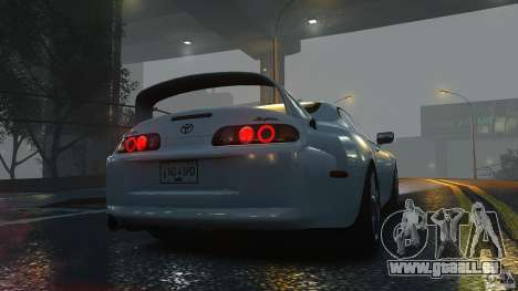 Toyota Supra für GTA 4 rechte Ansicht