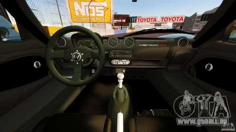 Hennessey Venom GT 2010 [EPM] pour GTA 4 Vue arrière