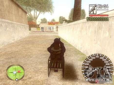 Sani für GTA San Andreas Innenansicht