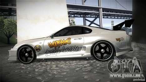 Toyota Supra MyGame Drift Team pour GTA San Andreas laissé vue