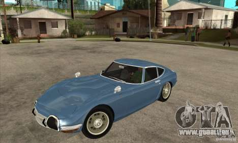 Toyota 2000GT pour GTA San Andreas