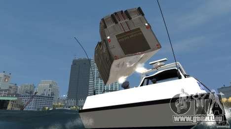 Benson boat für GTA 4 Seitenansicht