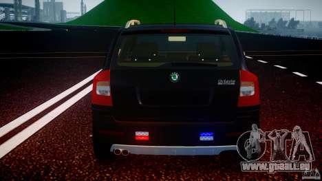 Skoda Octavia Scout Unmarked [ELS] pour GTA 4 roues