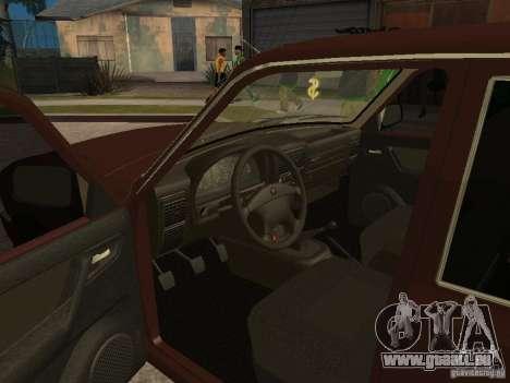 GAS 311055 für GTA San Andreas Innenansicht
