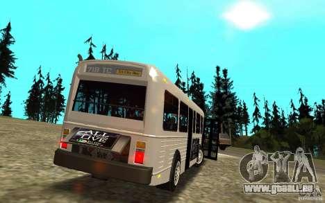 NFS Undercover Bus pour GTA San Andreas vue de côté