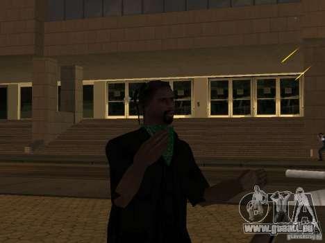 Ersetzen Sie alle Felle Grove Street Familien für GTA San Andreas zweiten Screenshot