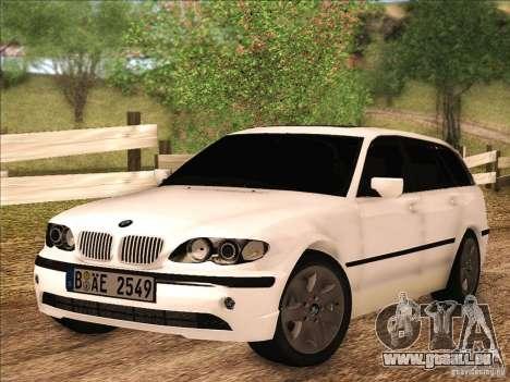 BMW M3 E46 Touring pour GTA San Andreas laissé vue