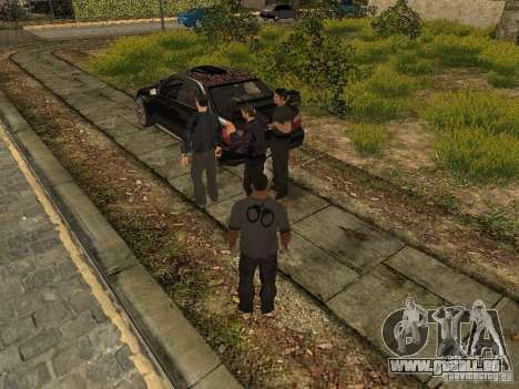 MAFIA Gang pour GTA San Andreas deuxième écran