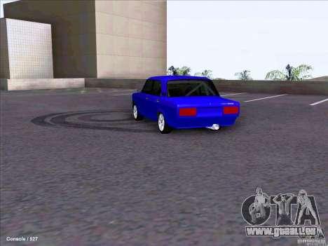 ВАЗ dérive de 2107 pour GTA San Andreas vue de droite