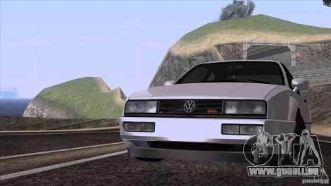 Volkswagen Corrado VR6 pour GTA San Andreas laissé vue