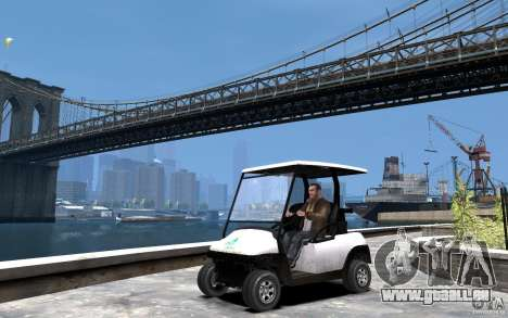 Caddy To IV pour GTA 4