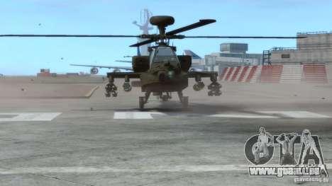 AH-64D Longbow Apache v1.0 pour GTA 4 est une gauche