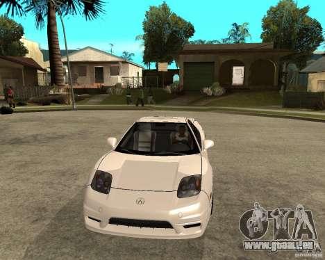 Acura/Honda NSX pour GTA San Andreas vue arrière