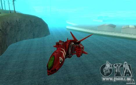 MOSKIT air Command and Conquer 3 pour GTA San Andreas