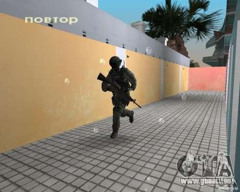 Frost von CoD MW3 für GTA Vice City dritte Screenshot