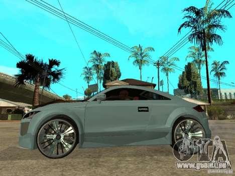 Audi TT 2007 Tuned pour GTA San Andreas laissé vue