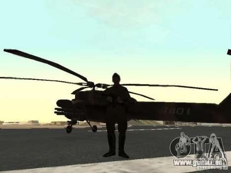 Mil Mi-28 für GTA San Andreas rechten Ansicht