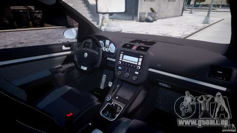 Volkswagen Golf GTI 2006 v1.0 pour GTA 4 est une vue de dessous