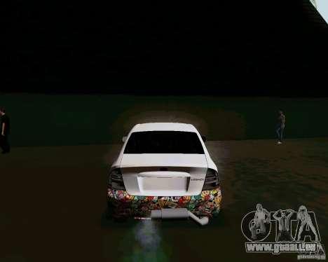Subaru Legacy JDM pour GTA San Andreas sur la vue arrière gauche