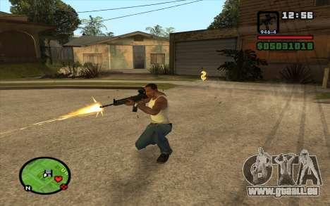 Bofors AK-5 für GTA San Andreas dritten Screenshot