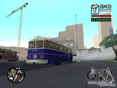 Ikarus 630 pour GTA San Andreas sur la vue arrière gauche