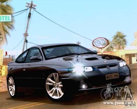 Vauxhall Monaro VXR pour GTA San Andreas vue de droite