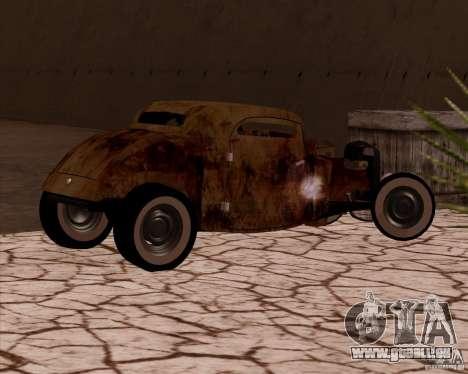 Ford Rat Rod pour GTA San Andreas vue de droite