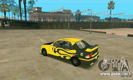 37.L de FlatOut 2 pour GTA San Andreas sur la vue arrière gauche